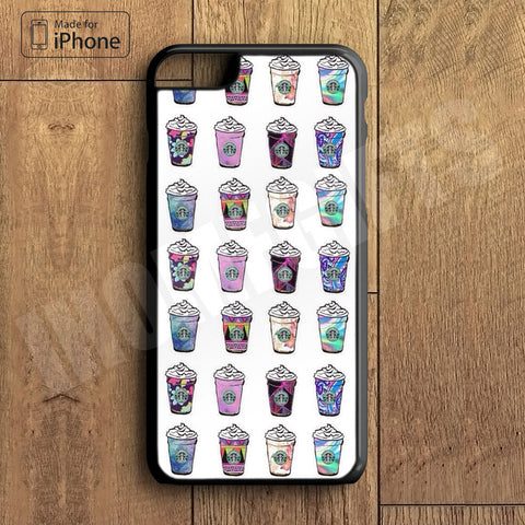 Coffee Cup Collection Plastic Case iPhone 6S 6 Plus 5 5S SE 5C 4 4S Case Ipod Touch 6 5 4 Case