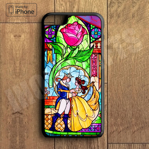 Beauty and Beast Plastic Case iPhone 6S 6 Plus 5 5S SE 5C 4 4S Case Ipod Touch 6 5 4 Case