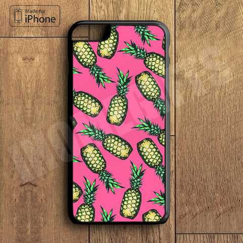 Pineapple  Plastic Case iPhone 6S 6 Plus 5 5S SE 5C 4 4S Case Ipod Touch 6 5 4 Case