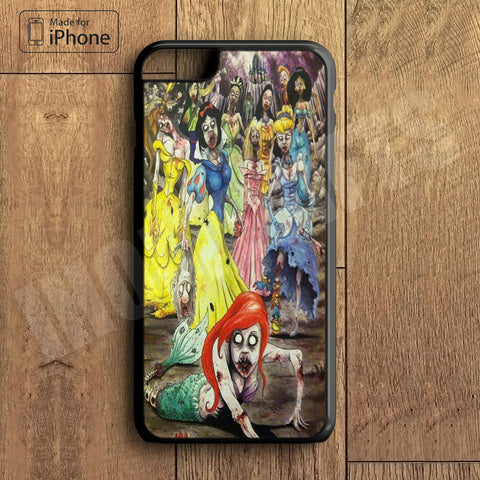 Zombie Princess Plastic Phone Case For iPhone 6 Plus More Style For iPhone 6/5/5s/5c/4/4s iPhone X 8 8 Plus