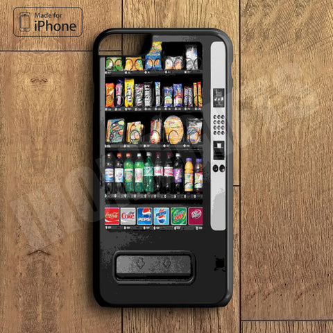 Snack Vending Machine Plastic Phone Case For iPhone 6 Plus More Style For iPhone 6/5/5s/5c/4/4s iPhone X 8 8 Plus