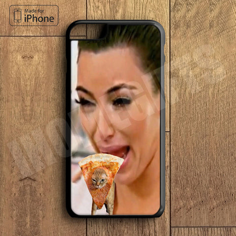 Kim Kardashian Crying with cute cat  Plastic Phone Case For iPhone 6 Plus More Style For iPhone 6/5/5s/5c/4/4s iPhone X 8 8 Plus