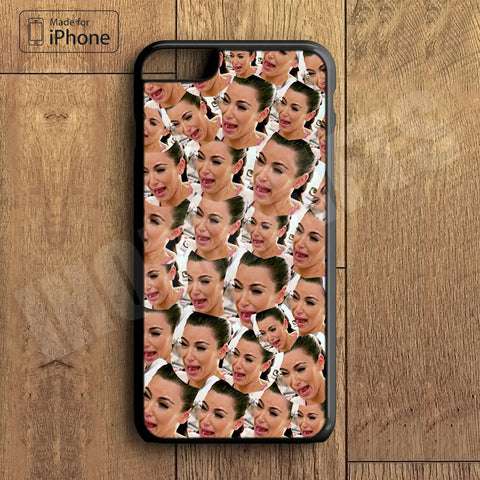 Kim Kardashian Crying Plastic Phone Case For iPhone 6 Plus More Style For iPhone 6/5/5s/5c/4/4s iPhone X 8 8 Plus
