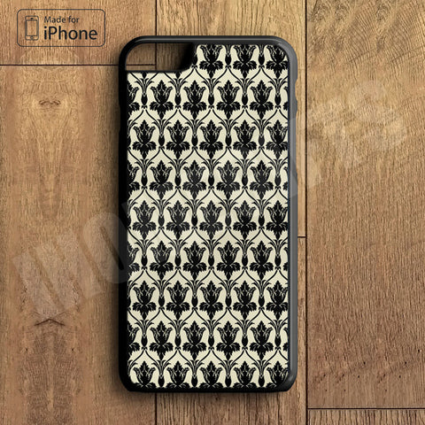 221B Wall Paper Plastic Case iPhone 6S 6 Plus 5 5S SE 5C 4 4S Case Ipod Touch 6 5 4 Case iPhone X 8 8 Plus