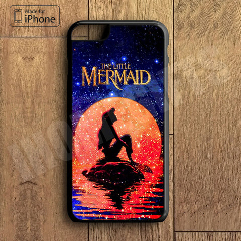 Little Mermaid Plastic Case iPhone 6S 6 Plus 5 5S SE 5C 4 4S Case Ipod Touch 6 5 4 Case iPhone X 8 8 Plus