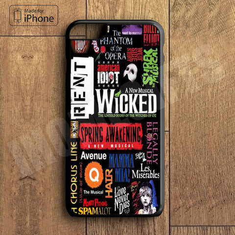Wicked Plastic Case iPhone 6S 6 Plus 5 5S SE 5C 4 4S Case Ipod Touch 6 5 4 Case iPhone X 8 8 Plus