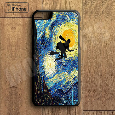 Harry Potter Star Night  Plastic Case iPhone 6S 6 Plus 5 5S SE 5C 4 4S Case Ipod Touch 6 5 4 Case iPhone X 8 8 Plus