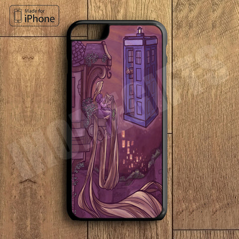 Tangled Doctor Who Plastic Case iPhone 6S 6 Plus 5 5S SE 5C 4 4S Case Ipod Touch 6 5 4 Case iPhone X 8 8 Plus