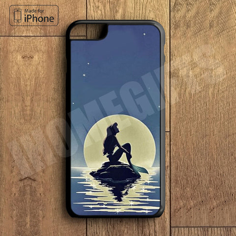 Little Mermaid Plastic Phone Case For iPhone 6 Plus More Style For iPhone 6/5/5s/5c/4/4s iPhone X 8 8 Plus