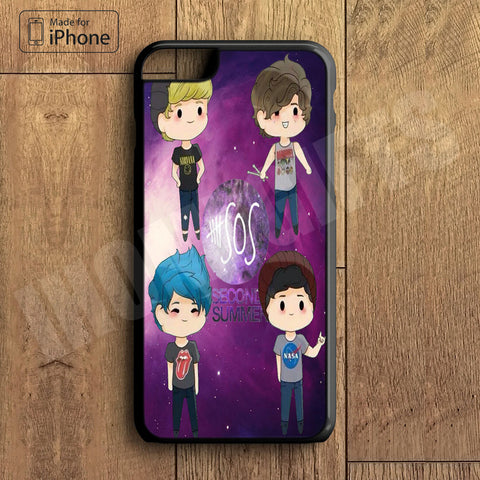 5SOS Plastic Case iPhone 6S 6 Plus 5 5S SE 5C 4 4S Case Ipod Touch 6 5 4 Case iPhone X 8 8 Plus