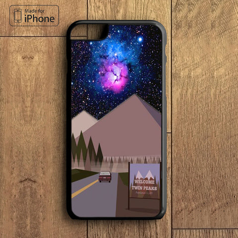 welcome to twin peaks Phone Case For iPhone 6 Plus For iPhone 6 For iPhone 5/5S For iPhone 4/4S For iPhone 5C iPhone X 8 8 Plus