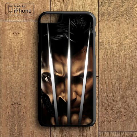 X MAN Wolverine Phone Case For iPhone 6 Plus For iPhone 6 For iPhone 5/5S For iPhone 4/4S For iPhone 5C iPhone X 8 8 Plus