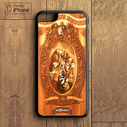 Country bear jamboree Phone Case For iPhone 6 Plus For iPhone 6 For iPhone 5/5S For iPhone 4/4S For iPhone 5C3 iPhone X 8 8 Plus