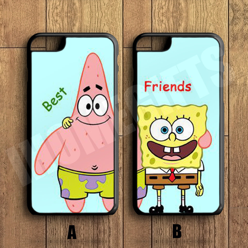 Best Friends Forever Couple Case Spongebob And Patrick Couple Case Iph Ihomegifts