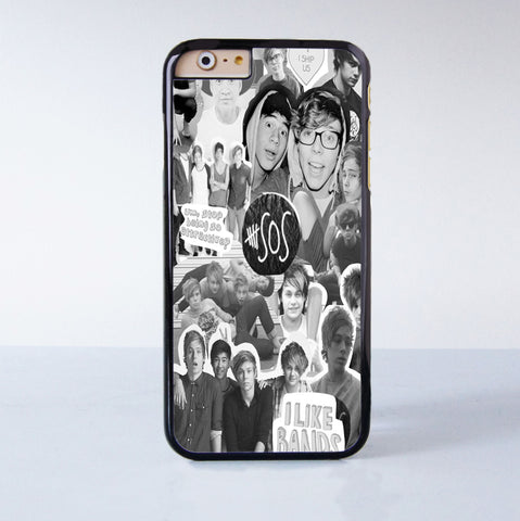 5SOS Plastic Phone Case For iPhone 6  More Style For iPhone 6/5/5s/5c/4/4s