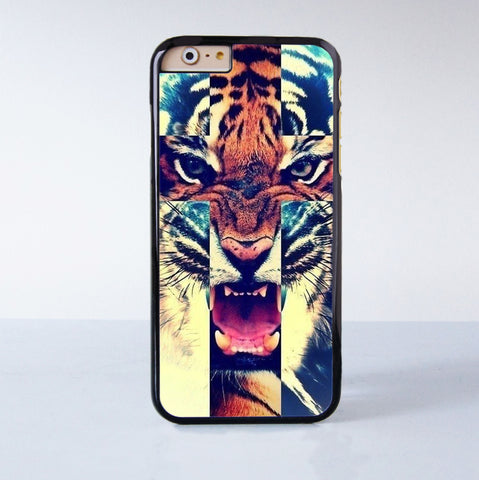 Tiger Plastic Phone Case For iPhone 6  More Style For iPhone 6/5/5s/5c/4/4s iPhone X 8 8 Plus