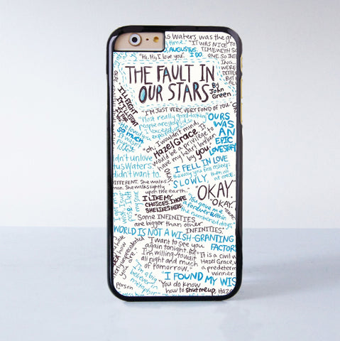 The Fault in Our Stars Okay Okay Plastic Phone Case For iPhone 6  More Style For iPhone 6/5/5s/5c/4/4s iPhone X 8 8 Plus