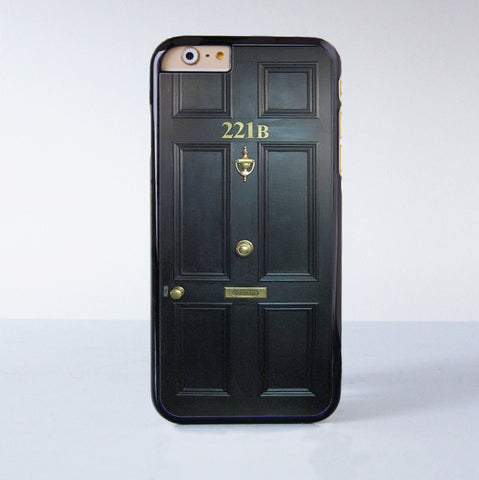 221B Plastic Phone Case For iPhone 6  More Style For iPhone 6/5/5s/5c/4/4s iPhone X 8 8 Plus