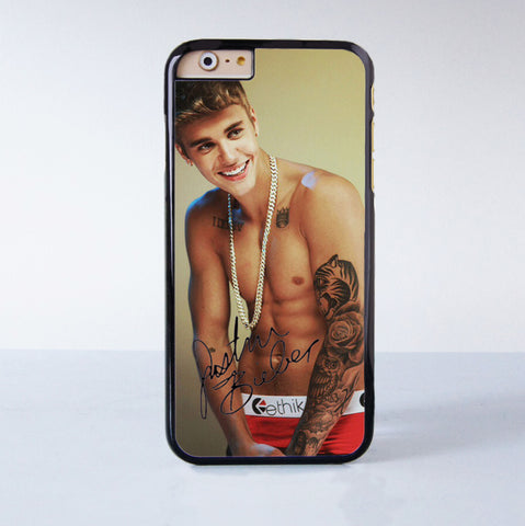 Justin Bieber Plastic Phone Case For iPhone 6  More Style For iPhone 6/5/5s/5c/4/4s iPhone X 8 8 Plus