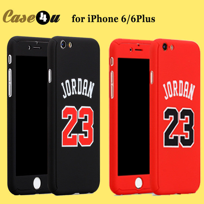 buy online 59340 fe0f0 For iPhone 6s Basketball Player Hard Phone Case Jordan Kobe Bryant Curry  360 Full Body Case Cover for iPhone 7 6 plus Capinhas -0316