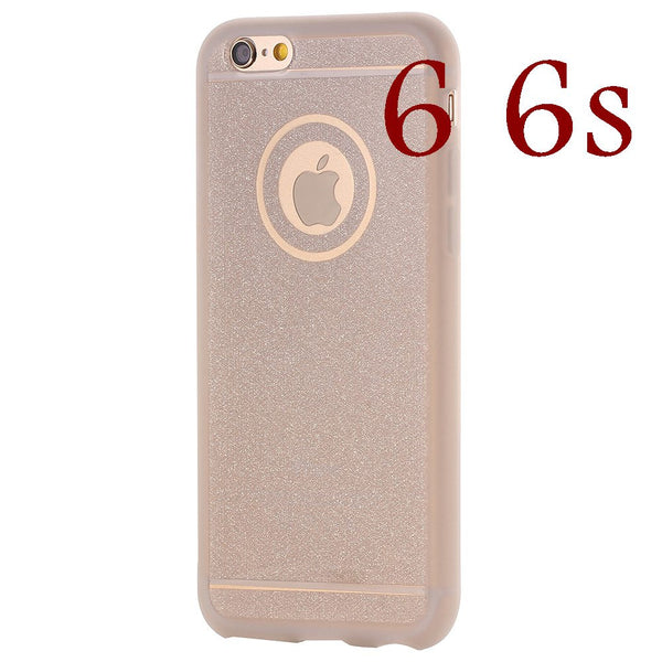 Hole for Logo Luxury Glitter Crystal Clear Soft TPU Matte Case For iph –  iHomeGifts fd3b8a4c71