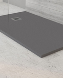 Slate Shower Tray - Anthracite / White / Taupe