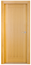 Load image into Gallery viewer, All Interiors - Mexicano White Oak Door - 5 Plank