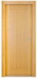 All Interiors - Mexicano White Oak Door - 5 Plank