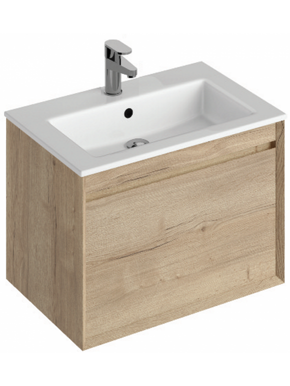 Halifax Oak 60 Vanity unit