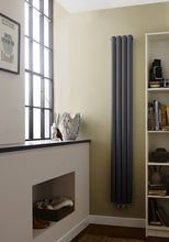 Load image into Gallery viewer, Revive Compact Double Panel Radiator 1800x236mm Anthracite