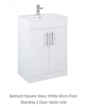 Load image into Gallery viewer, Belmont Square Vanity + Basin