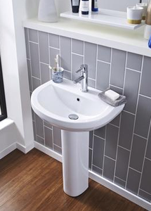 Ivo 550 Basin & Pedestal - All Interiors Maghera