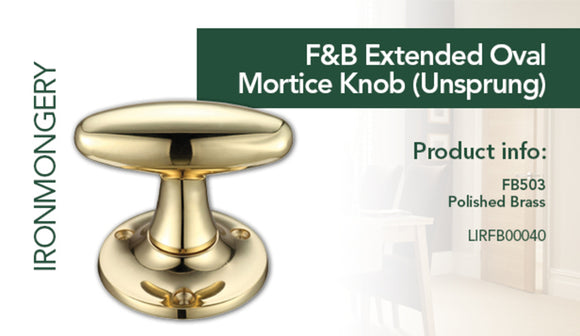 Pair of Mortice Knobs