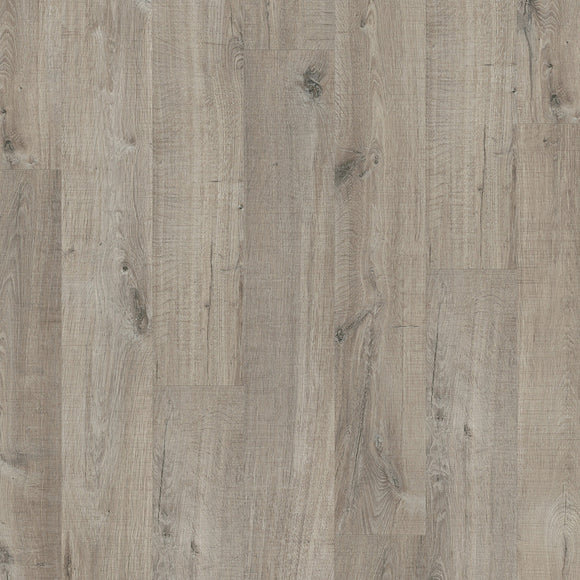 Quickstep Cotton Oak Grey with Saw Cuts PUCL40106 - Livyn Pulse Click