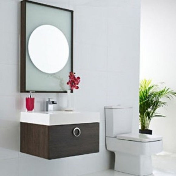 Sonar Wall Mounted Unit, Taps & Mirror: Ex Display