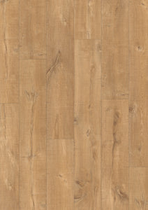 Quickstep Oak Planks with Saw Cuts Nature - Eligna Wide UW1548