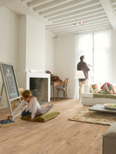 Load image into Gallery viewer, Quickstep Oak Planks with Saw Cuts Nature - Eligna Wide UW1548