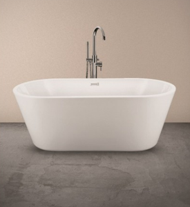 Zoe Contemporary Freestanding Bath - All Interiors Maghera