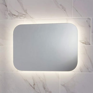 Aura LED Mirror with demister & shaving socket