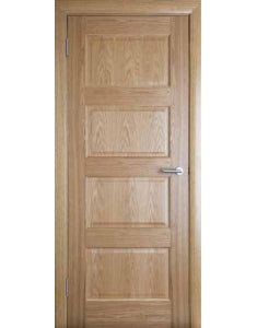Contemporary 4 Panel - White Oak
