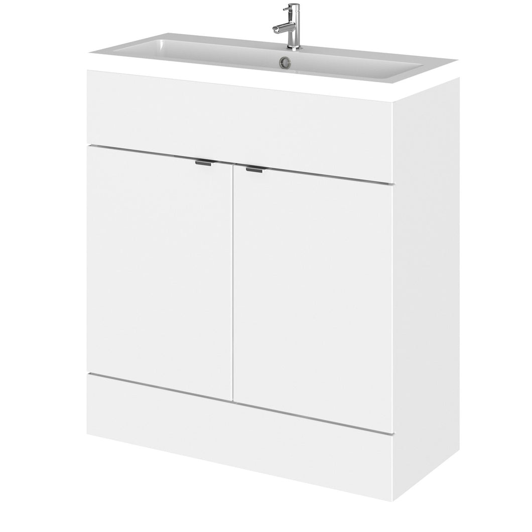 Full Depth Standalone Unit - Gloss White (various sizes) - All Interiors Maghera