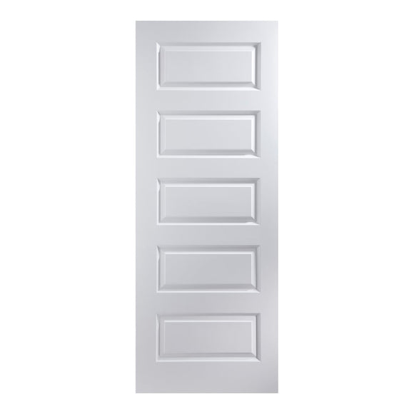 White Primed Rockport Door