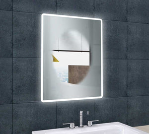 Jubilee LED Bluetooth Mirror 600 x 800 mm - All Interiors Maghera