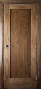 Walnut Shaker Door - 1 Panel - All Interiors Maghera