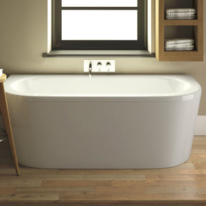 Pearl Back to Wall Bath - All Interiors Maghera