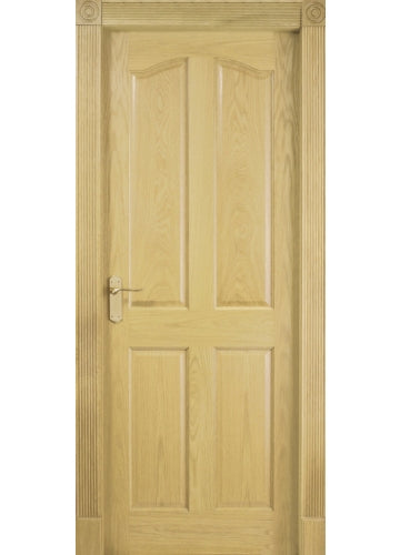 Tunis 4 Panel White Oak Door