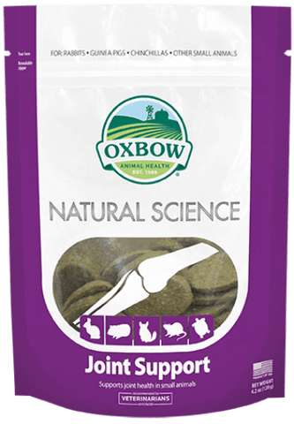 Oxbow Natural Science Joint Supplement For Small Animas - 60 ct
