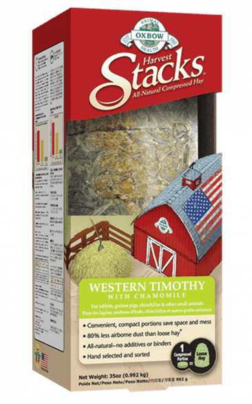 Oxbow Harvest Stacks Western Timothy With Chamomile - 35 oz