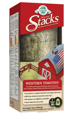 Oxbow Harvest Stacks Western Timothy - 35 oz