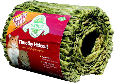 Oxbow Timothy Club Edible Hideout For Small Animals
